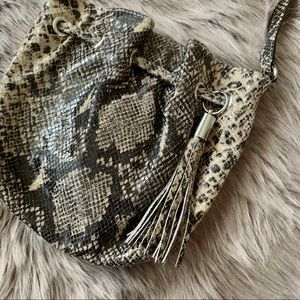 MICHAEL KORS | Faux Snake Cross Body Bag